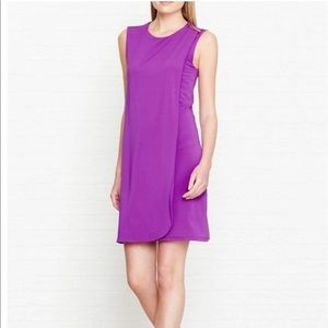 Ted Baker Purple Shift Dress Kaelene Size US 4